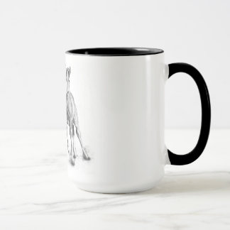 Colts, Horses Running Side by Side: Pencil Mug