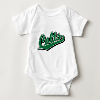 Colts in Green Baby Bodysuit