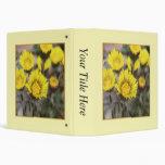 Coltsfoot (Tussilago farfara) Flowers Vinyl Binders