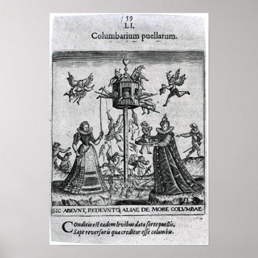 Columbarium puellarum print