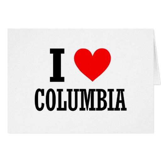 Columbia, Alabama City Design Greeting Card