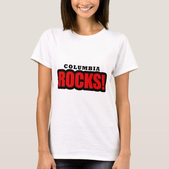 Columbia, Alabama City Design T-Shirt