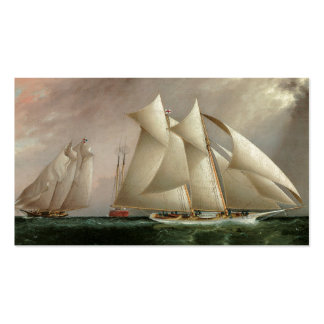 Columbia and Dauntless Hurricane Cup Race Business Cards