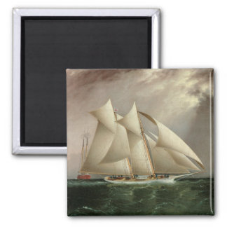 Columbia and Dauntless Hurricane Cup Race Magnet