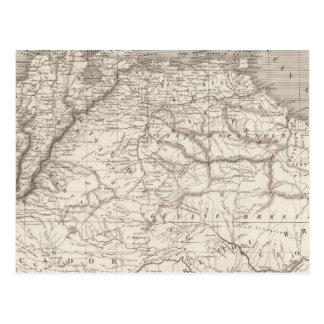 Columbia and Guiana Postcard