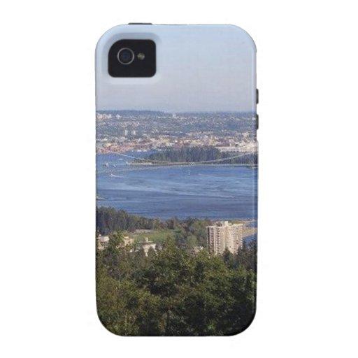 Columbia Británica Canadá de Vancouver iPhone 4 Carcasa