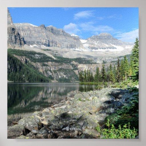 Columbia Británica Canadá del parque nacional del  Impresiones