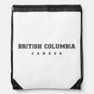 Columbia Británica Canadá Mochilas