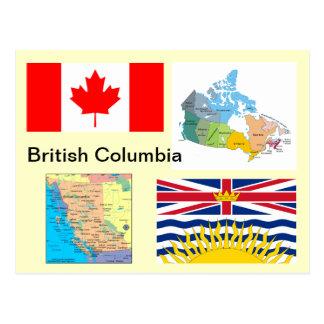 Columbia Británica Canadá Postales