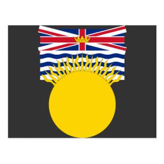 Columbia Británica, Canadá Tarjeta Postal