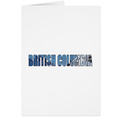 Columbia Británica Felicitaciones