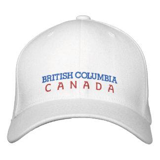 COLUMBIA BRITÁNICA, GORRA DE CANADÁ GORRAS BORDADAS