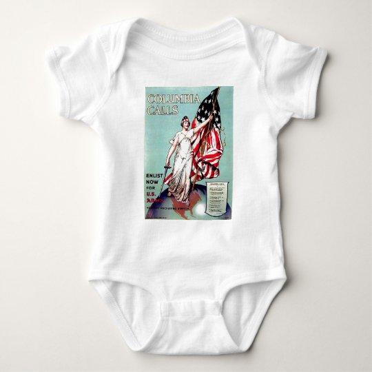 Columbia Calls Baby Bodysuit