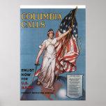 Columbia Calls Print