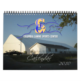 Columbia Canine Sports 2010 Dog Calendar