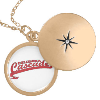 Columbia Cascade Gear Personalized Necklace