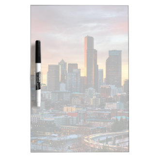 Columbia center and downtown Seattle, Seattle Dry Erase Board
