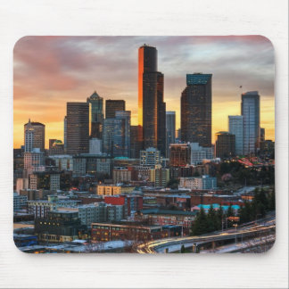 Columbia center and downtown Seattle, Seattle Mouse Pad