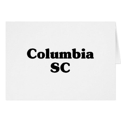 Columbia Classic t shirts Greeting Card