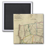 Columbia County 2 Inch Square Magnet