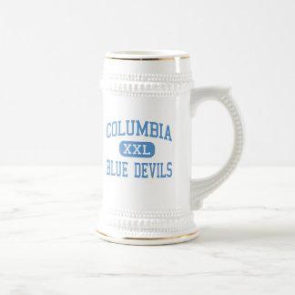 Columbia - diablos azules - alto - Greenbush del e Tazas