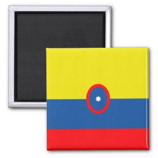 Columbia Flag Refrigerator Magnet