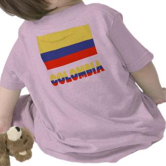Columbia Flag Name Shirt