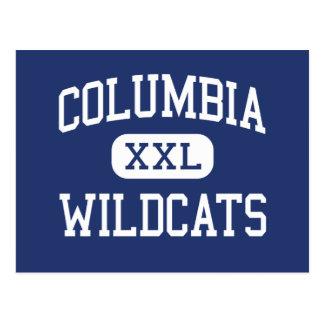 Columbia - gatos monteses - alto - Columbia Postales
