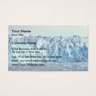 Columbia Glacier Business Card