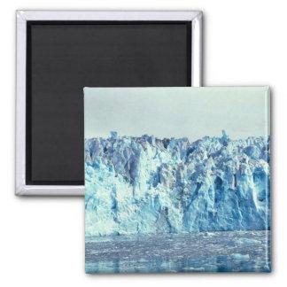 Columbia Glacier 2 Inch Square Magnet