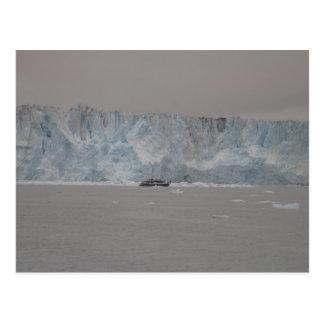 Columbia Glacier Postcard