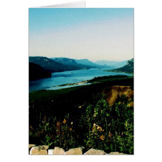 Columbia Gorge Greeting Card