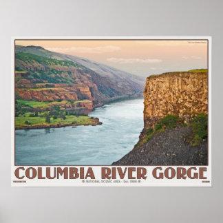 Columbia Gorge - Rowena Plateau W.jpg Poster
