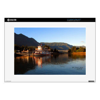 """Columbia Gorge Stern Wheeler and Bridge of the God 15"""" Laptop Decal"""