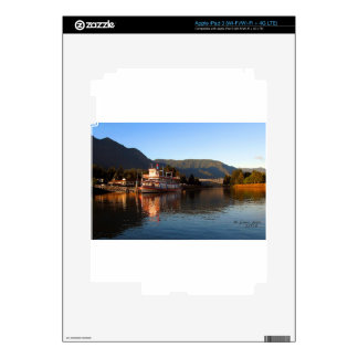 Columbia Gorge Stern Wheeler and Bridge of the God Decal For iPad 3