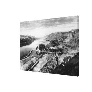 Columbia Gorge View Photograph Canvas Print