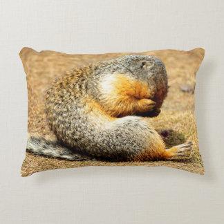 Columbia Ground Squirrel Accent Pillow