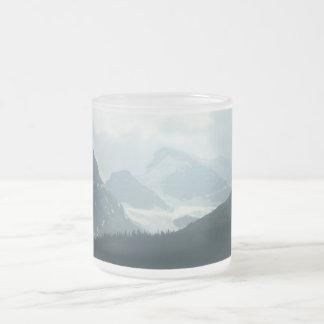Columbia Ice Fields 10 Oz Frosted Glass Coffee Mug