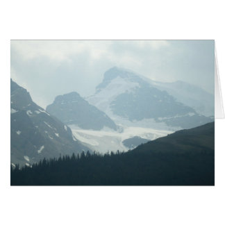 Columbia Ice Fields Greeting Card