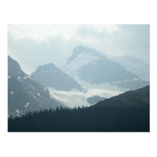 Columbia Ice Fields Postcard