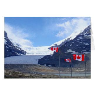 Columbia Icefield Glacier Card