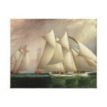 Columbia Leading Dauntless in the Hurricane Cup Canvas Print