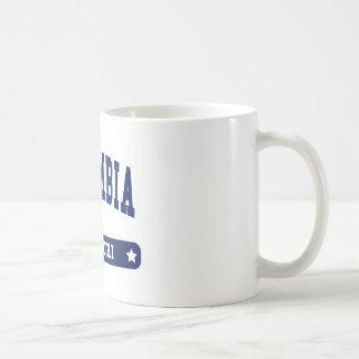 Columbia Missouri College Style tee shirts Classic White Coffee Mug