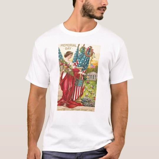 Columbia Observes Memorial Day Vintage T-Shirt