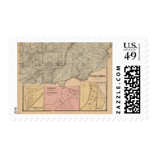 Columbia, Ohio Postage