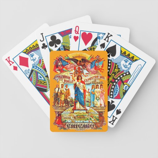 COLUMBIA - Playing Cards