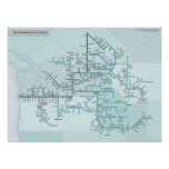Columbia River 18 x 24 Poster