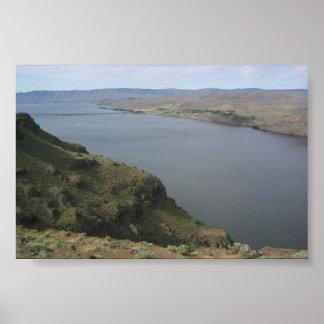 Columbia River, Eastern Washington Print