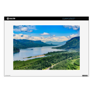 Columbia River Gorge Decal For Laptop