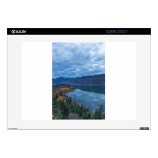 Columbia River Gorge Evening Blue Hour Skin For Laptop